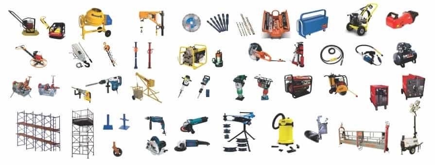 Empresa de aluguel de maquinas para construção civil