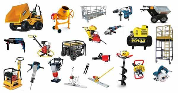 Empresas de aluguel de maquina para construção civil